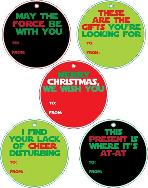 printable star tags star wars printable gift tags printing the holidays blog