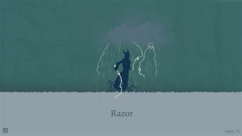 wallpaper background dota 2 razor razor minimal dota 2 wallpapers hd download desktop razor