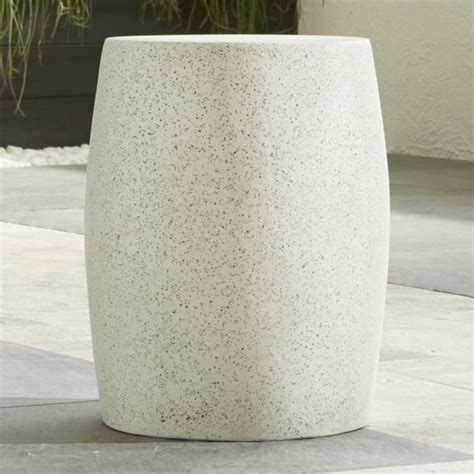 Barrel Stool Side Table by Mesa Side Table Stool Crate And Barrel