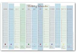 birthday reminder calendar template best photos of birthday reminder calendar printable