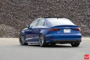 2015 S3 Audi 2015 Audi S3 Sedan Receives 20 Inch Vossen Wheels