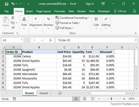 pivot tables 2016 ms excel 2016 how to create a pivot table