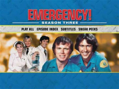 emergency seasons 1 3 a viewer s the wall guide volume 1 books emergency dvd news sound the alarm season 3 announced