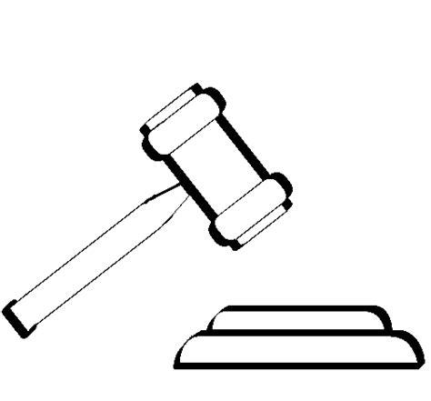 imagenes del valor justicia para colorear dibujo de mazo para colorear dibujos net