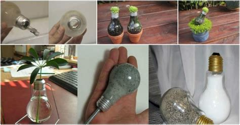 Light Bulb Planter Diy by How To Make Cool Diy Light Bulb Planter How To
