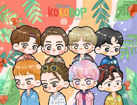 wallpaper animasi exo fanart thewar kokobop exo the war kokobop