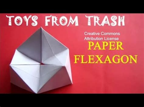 How To Make A Flexagon Out Of Paper - paper flexagon 20mb