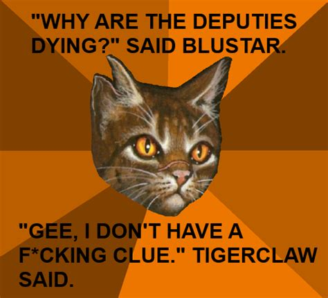 Warrior Cats Meme - fuck yeah warrior cats memes
