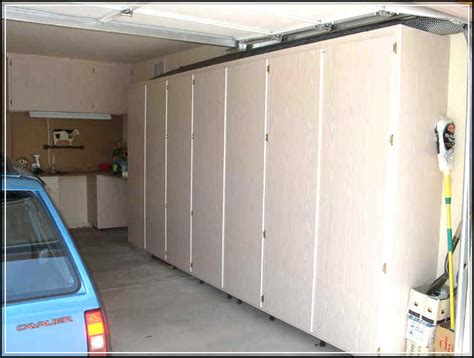 free garage cabinet plans creating diy space saving garage cabinet plans home