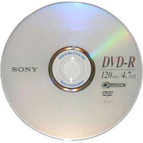 15 sony blank dvd r dvdr silver logo branded 16x 4 7gb