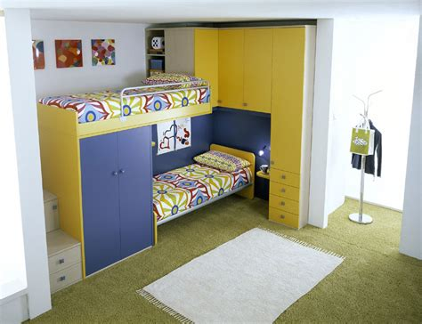 kids bed room ergonomic kids bedroom designs for two children from