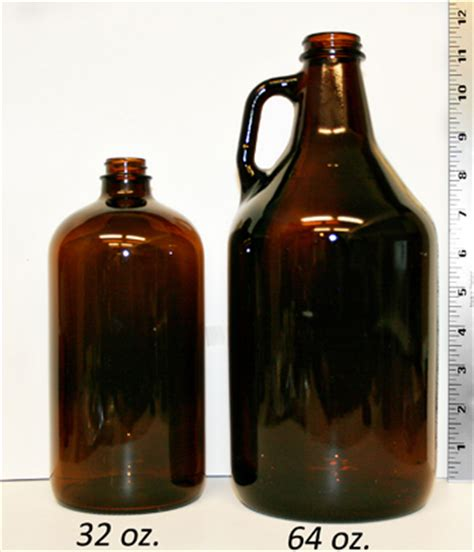 overview: glass & plastic container size conversion chart