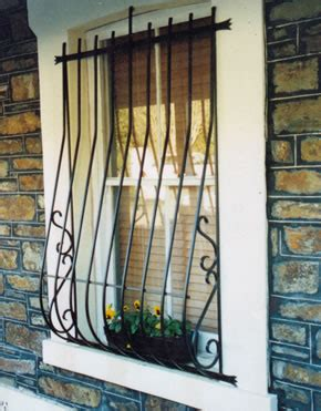 window grills on grill design wrought iron