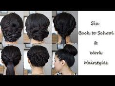 no work hairstyles a popular twist on putting hair in its place simple