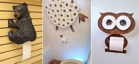 clever toilet paper holders creative toilet paper holders home design garden