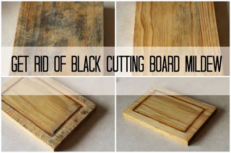 remove musty smell from wood how to get rid of black cutting board mildew the frugal girl