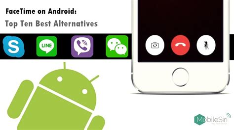 can you facetime on android android app like facetime