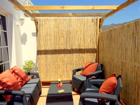 zithoek balkon appartement met fantastisch uitzicht in villa de tazacorte