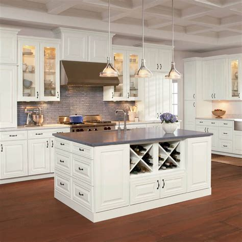 White Shaker Kitchen Cabinets Lowes by Kitchen Cabinet Style Shop Shenandoah Mckinley 14 5 In X