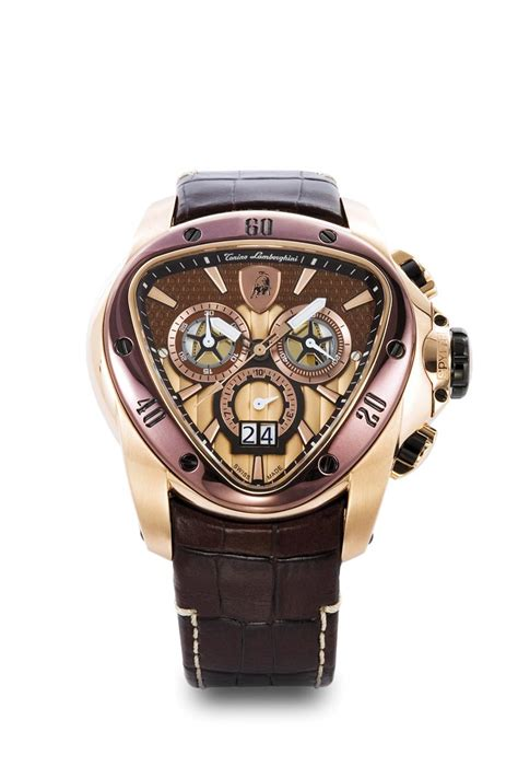 Lamborghini Advantador Chrono Stainless Steel 5 tonino lamborghini spyder 1100 chronograph brown and gold mens 1120 browsebird