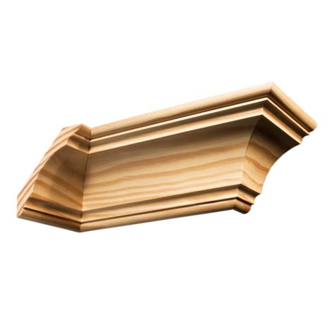 Timber Cornice Moulding C672 Southern Yellow Pine Cornices Wrp