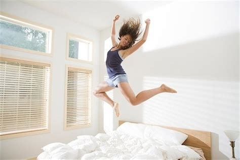Jumping On The Bed by Be Happier At Home With Five Easy Tips Chatelaine