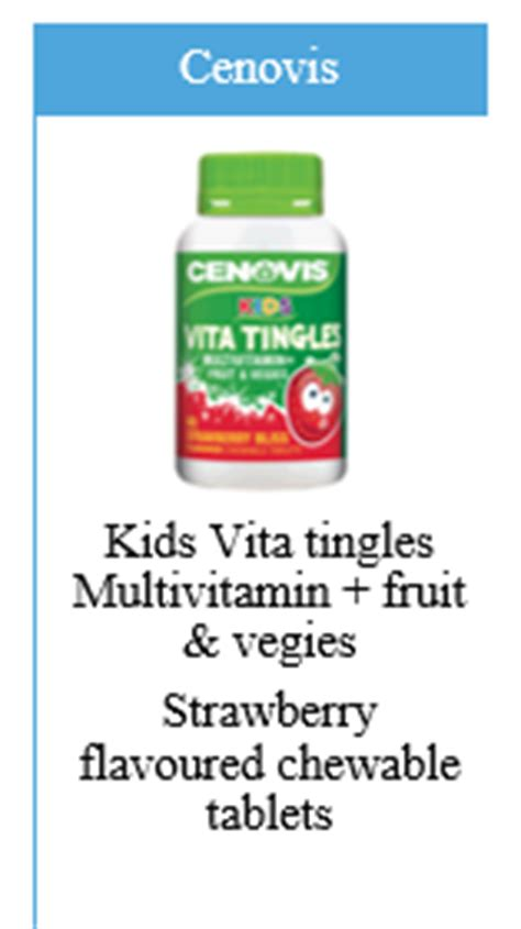 Sale Cenovis Vita Tingles what to give who are fussy eaters roy pharmacy