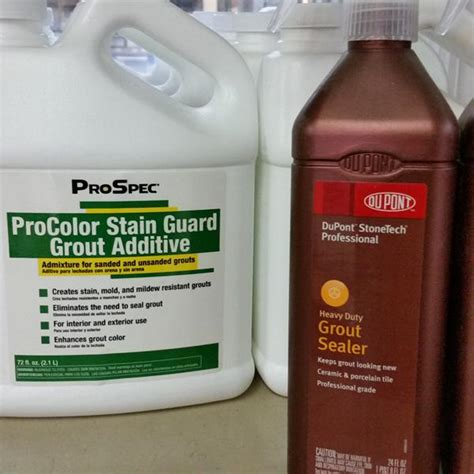 procolor stain guard grout additive southside bargain center