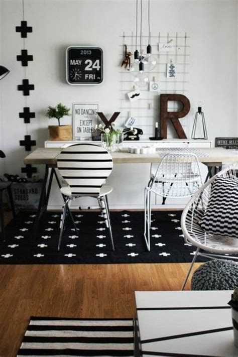 small black and white home office inspirations teppich in schwarz und wei 223 wunderbare ideen