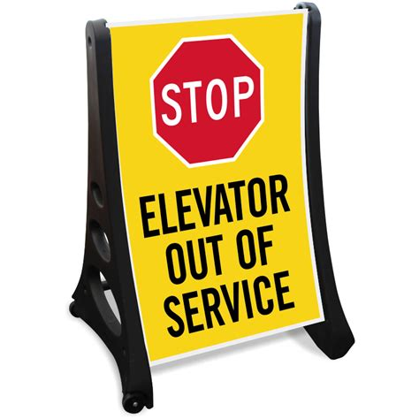How To Make A Stop Sign Out Of Paper - elevator out of order signs mysafetysign