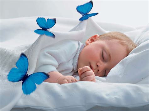 baby sleeping bed beautiful baby wallpapers all2need