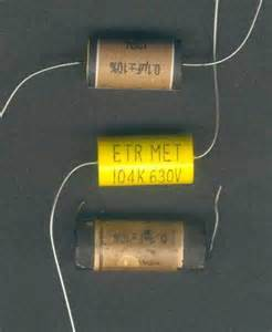 can capacitor recycling of vintage paper capacitors