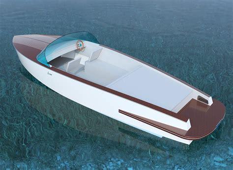 jacht boot liso elektrische boot tegen 95 km per uur inshore
