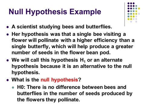 exle of null hypothesis in research paper unit 6 mendelian genetics chi square analysis ppt