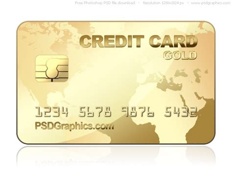 Credit Card Background Template Psd Gold Kreditkarte Vorlage Der Kostenlosen Psd