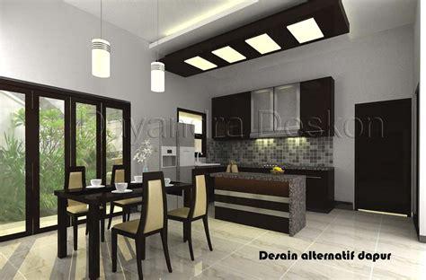 design dapur minimalis menghadap taman gambar dapur minimalis dan sederhana
