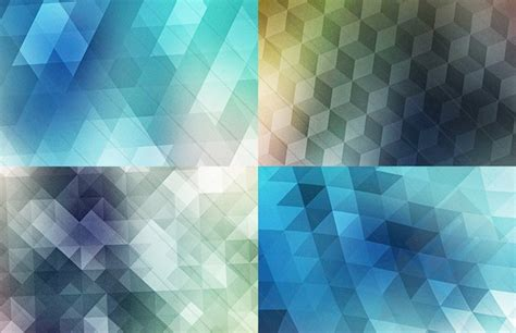 create mosaic pattern illustrator triangle polygon vector illustrations vectorise vectorise