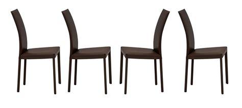 tonin sedie tonin casa set di 4 sedie plaza 7299 testa di moro k91