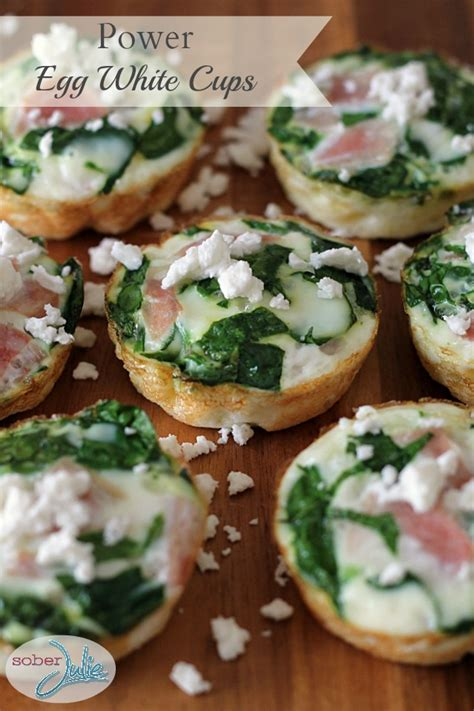 protein 1 cup egg white power egg white cups recipe sober julie