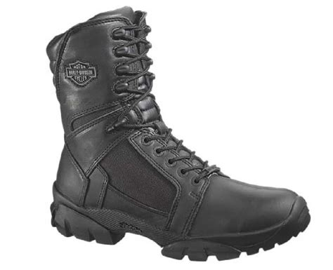 mens waterproof motorcycle boots harley davidson s lynx waterproof black 8 inch