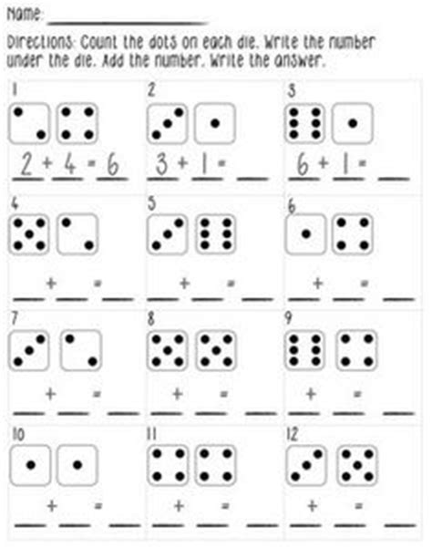 printable addition dice games 1000 images about touch math on pinterest touch math