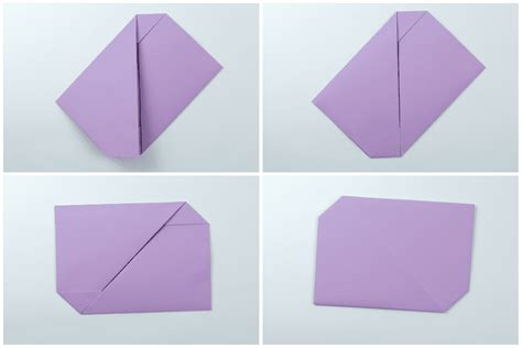 Paper Folding For Letter - easy traditional origami letter fold