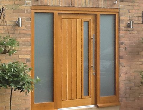 18 Cool Ideas Of Hardwood Front Door Interior Design Solid Hardwood Exterior Doors