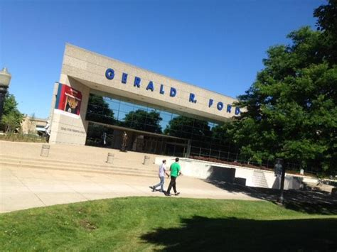 Gerald R Ford Presidential Library Museum by After Makeover A More Interactive Gerald Ford Museum Wkar