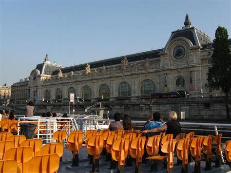 bateau mouche orsay bateaux mouches sightseeing cruise river seine paris france
