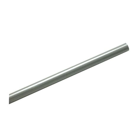 Closetmaid Rod closetmaid superslide 8 ft nickel closet rod 32059 the home depot