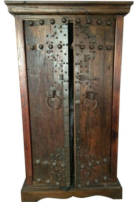 indonesian armoire pre owned indonesian batik armoire rustic armoires and