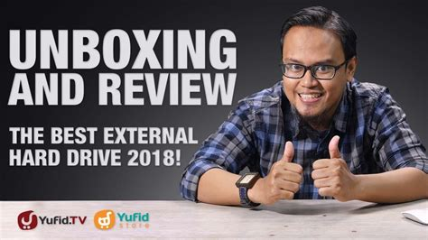Hardisk Yufid unboxing and review the best external drive 2018