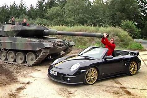 Leopard 2 Autobild by Porsche 9ff Vs Leopard 2 Tank Autobild De