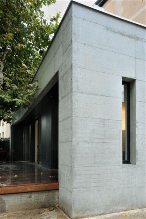 Extension Terrasse Beton by Agrandissement En B 233 Ton D Une Maison Bourgeoise